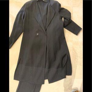Giorgio Armani long jacket pants suit